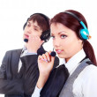 Call-center — Foto Stock