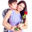 Royalty-Free Stock Photo: Teenage couple