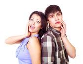 Teenage couple — Stock Photo