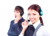 Call-center — Stock Photo