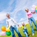 Happy family — Stock Photo #4850817