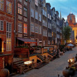 Stock Photo: Mary's Street in Gdansk