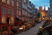 Mary's Street in Gdansk — Stock Photo