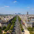 Avenue Charles de Gaulle — Stock Photo #4062726