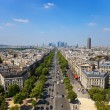 The Avenue Charles de Gaulle — Stock Photo