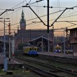 Railway station in Gdansk — Foto de Stock