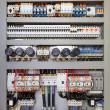Electrical control panel - Stock Photo