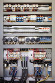 Electrical control panel — Stockfoto