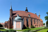 Cathedral in Frombork, Poland — Stock Photo