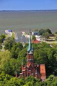 Church of St. Wojciech — Stock Photo