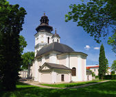 The old cathedral in Zamosc, Poland. — Stock Photo