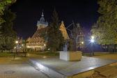 Monumento a jan hevelius — Foto Stock