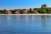 Beach in Sopot — Stock Photo