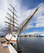 Port city of Gdynia — Stock Photo