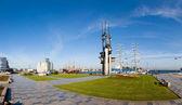 Panoramic view of Gdynia — Stock Photo