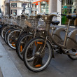 Bicycles in Paris - Stock Photo