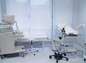 Ambulance with ultrasound equipment — Stock Photo