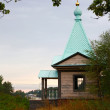Chapel on island Valaam - Stock Photo