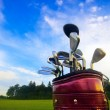 Golf gear — Stock Photo