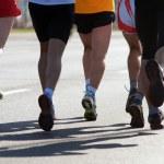 Marathon runners — Stock Photo #5201258