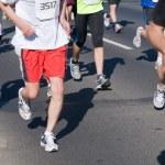 Marathon runners — Stock Photo #5201307