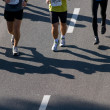 Stock Photo: Marathon runners