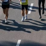 Marathon runners — Stock Photo #5201321