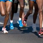 Marathon runners — Stock Photo #5201330