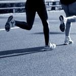 Marathon runners — Stock Photo #5201365