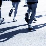 Marathon runners — Stock Photo #5201387