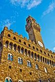 佛罗伦萨旧宫 — 图库照片