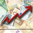 Euro growth — Stock Photo #5041771