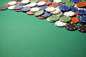 Gambling chips — Photo