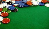 Gambling chips — Foto Stock