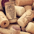 Wine corks backgrounds - Stock Photo
