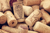 Wine corks backgrounds — Stock Photo