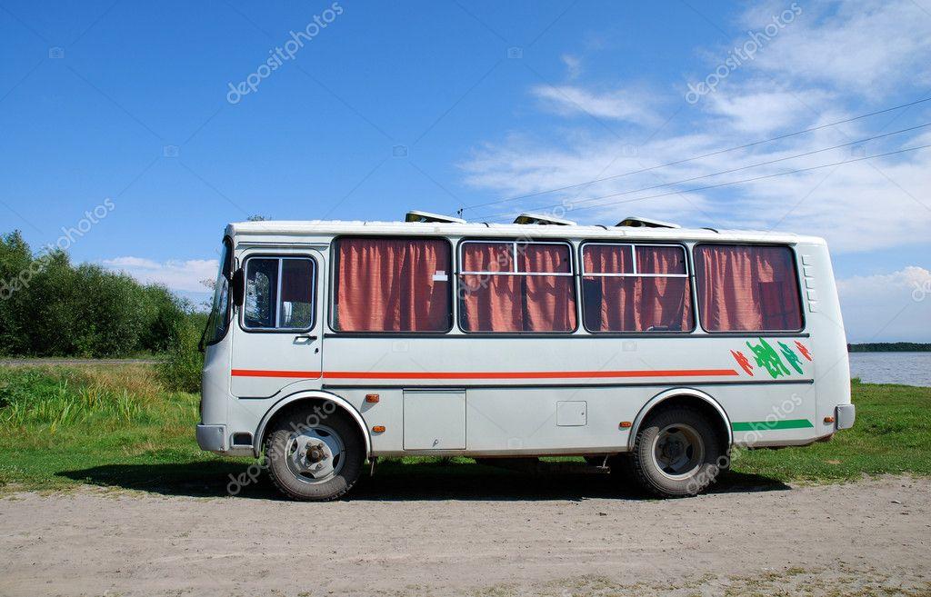 old bus stock photo cancerus 3936508. Black Bedroom Furniture Sets. Home Design Ideas