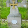 Military cemetery - Stock Photo