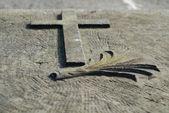 Old cross — Foto de Stock
