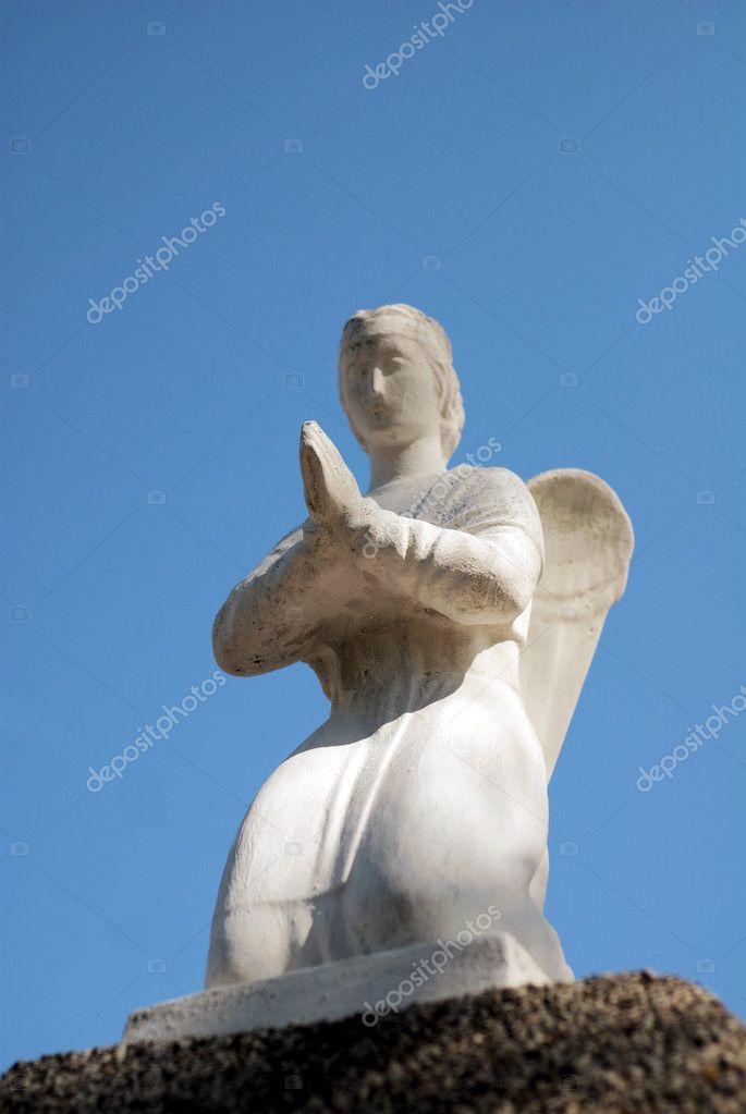 天使雕像 — 图库照片08cancerus#4048741
