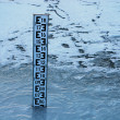Water level indicator - Stock Photo