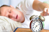 Sleeping man — Stock Photo