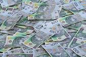 Polský peníze — Stock fotografie
