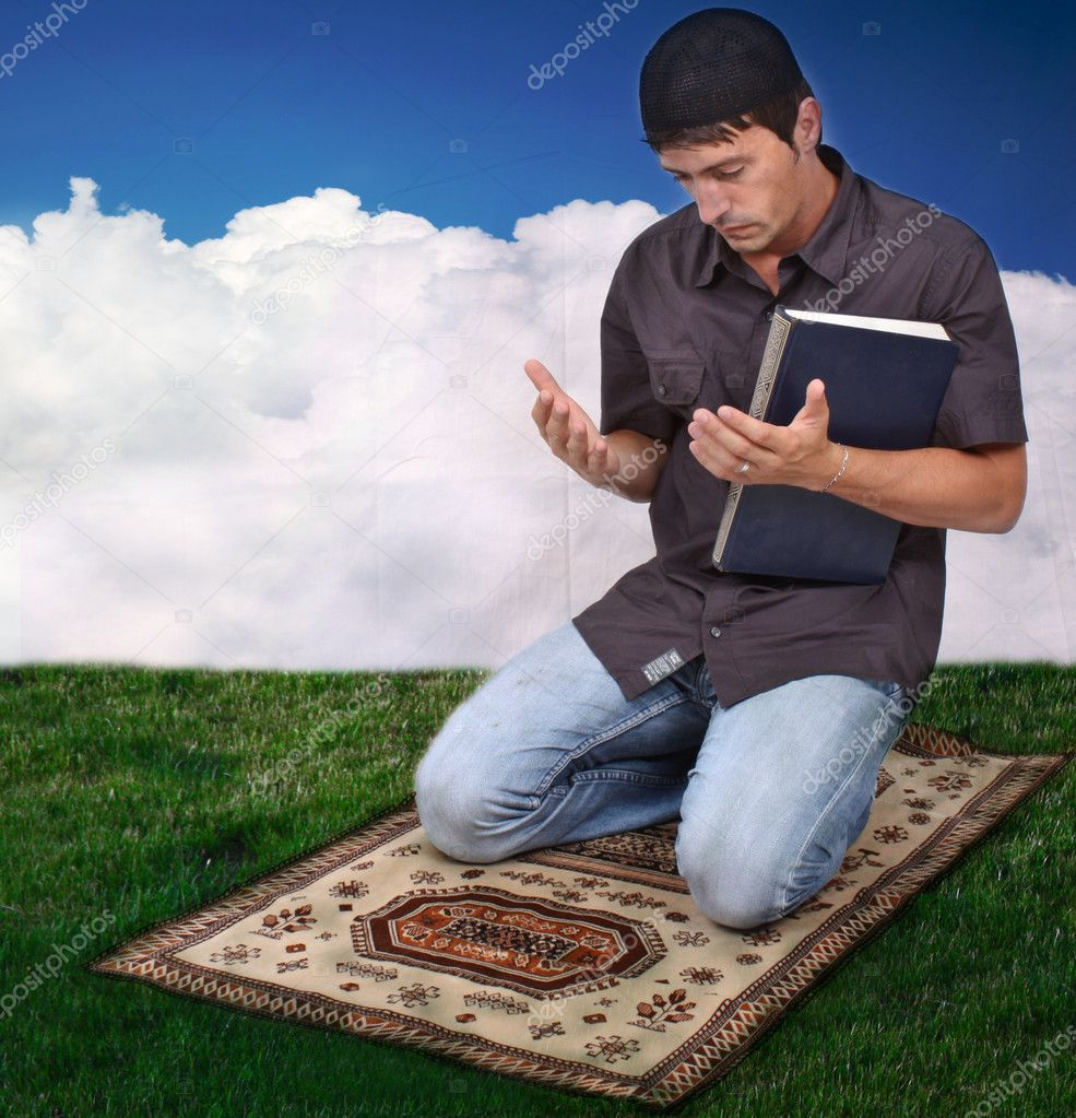 Muslim praying — Stock Photo #4440404