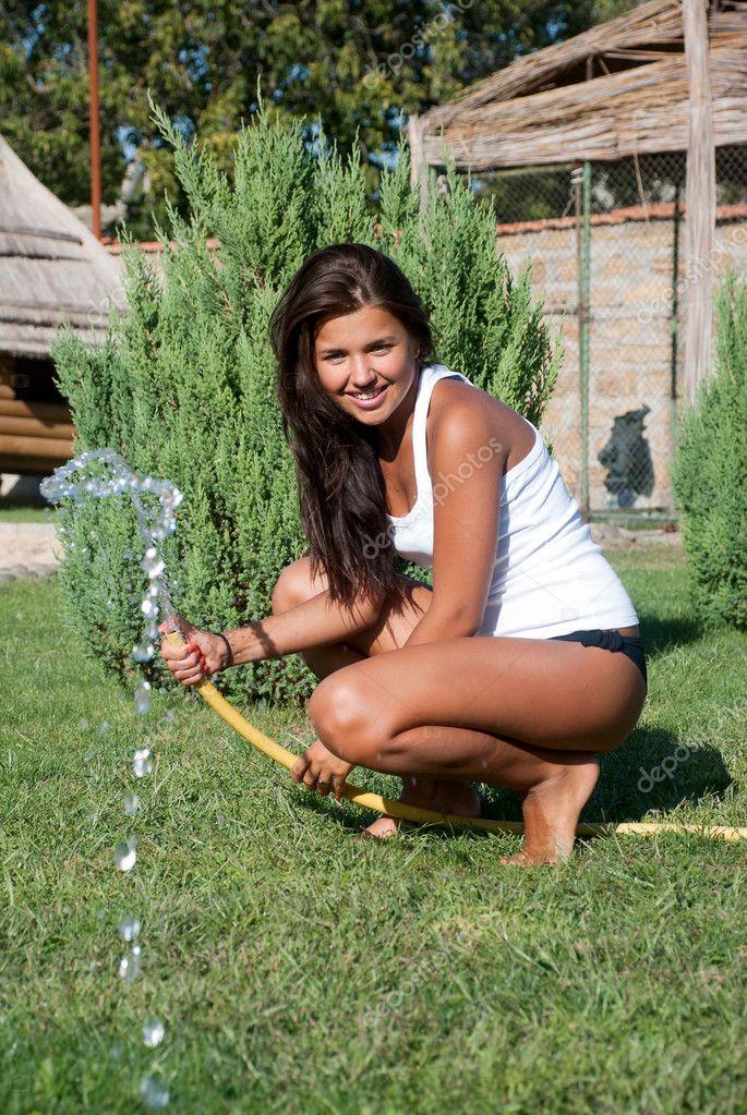 Шланг в девушку 11 фотография