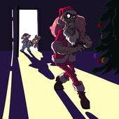 Bad Santa — Stock Vector