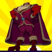 Captain Santa — Stock Vector