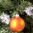 Christmas-tree decoration. - Stock Photo