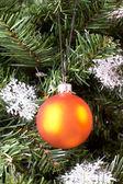 рождественская елка украшения. — Стоковое фото