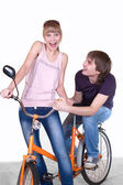 Young guy and girl — Stock Photo